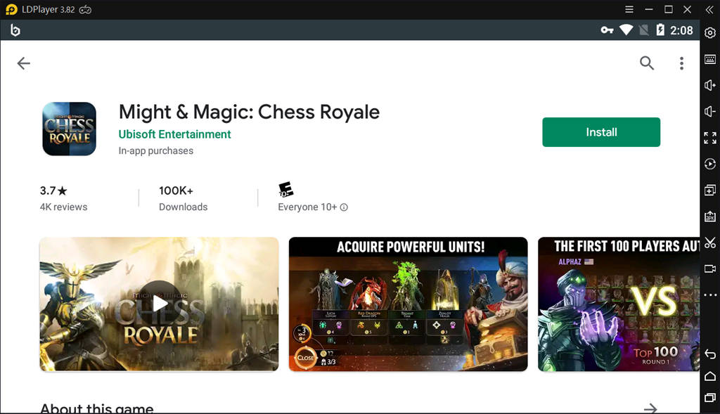 Download Might Magic Chess Royale On PC With LDPlayer