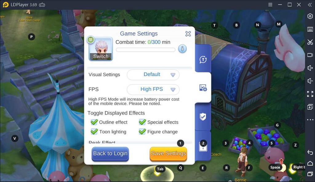 Game Settings For Ragnarok M Eternal Love