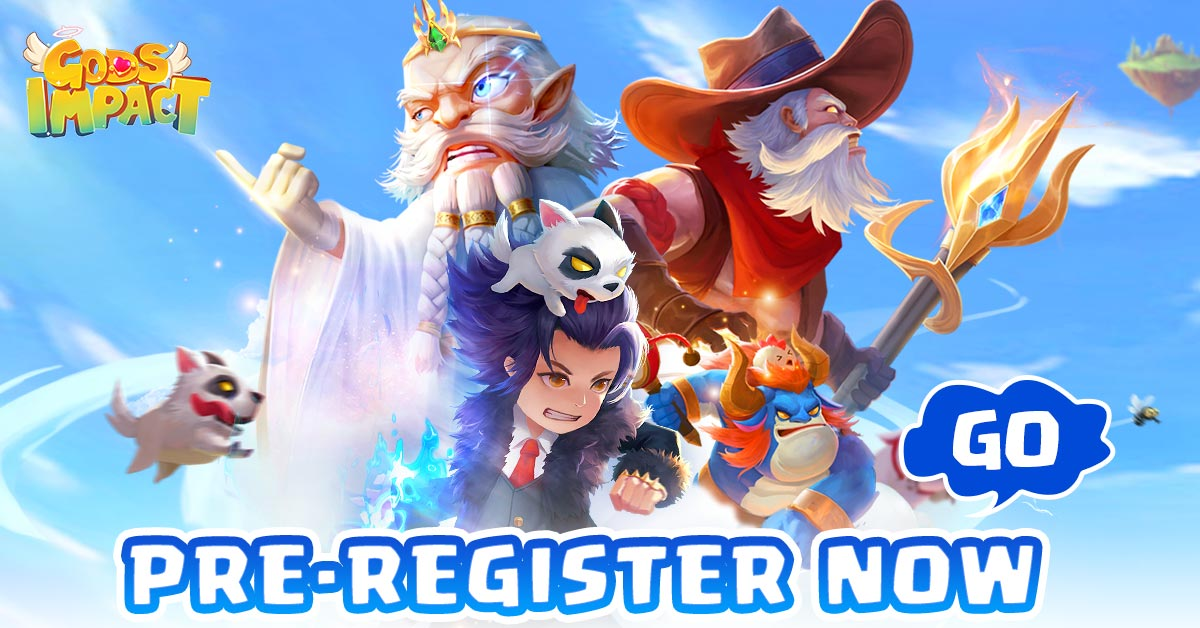 Gods Impact pre-registration begins on Play Store!