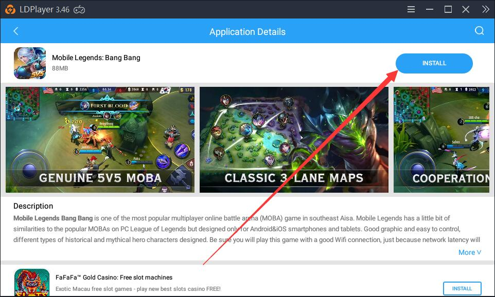 A solution to a load failure of Mobile Legends: Bang Bang