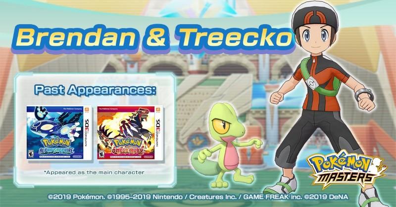 Brendan & Treecko Pokémon Masters