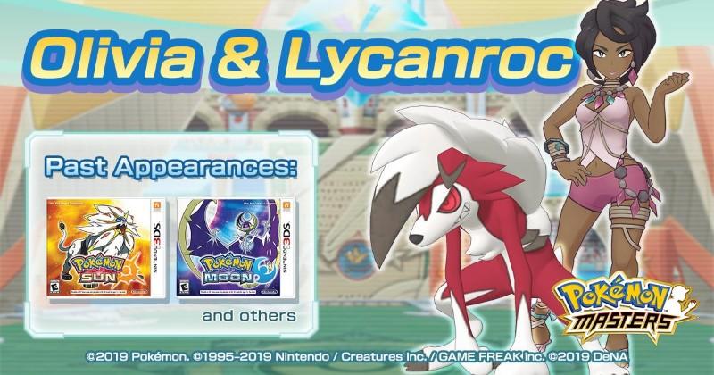 Olivia & Lycanroc Pokémon Masters