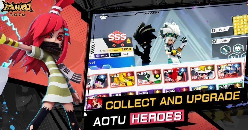 AOTU World Collect and Upgrade Heroes