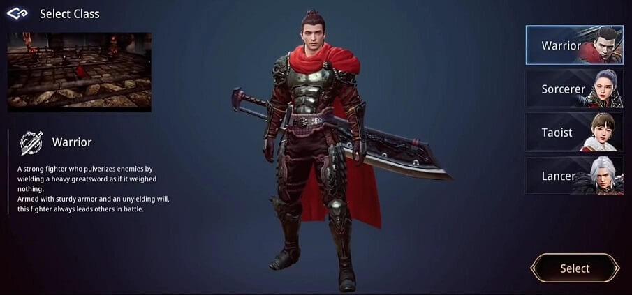 MIR4 Warrior