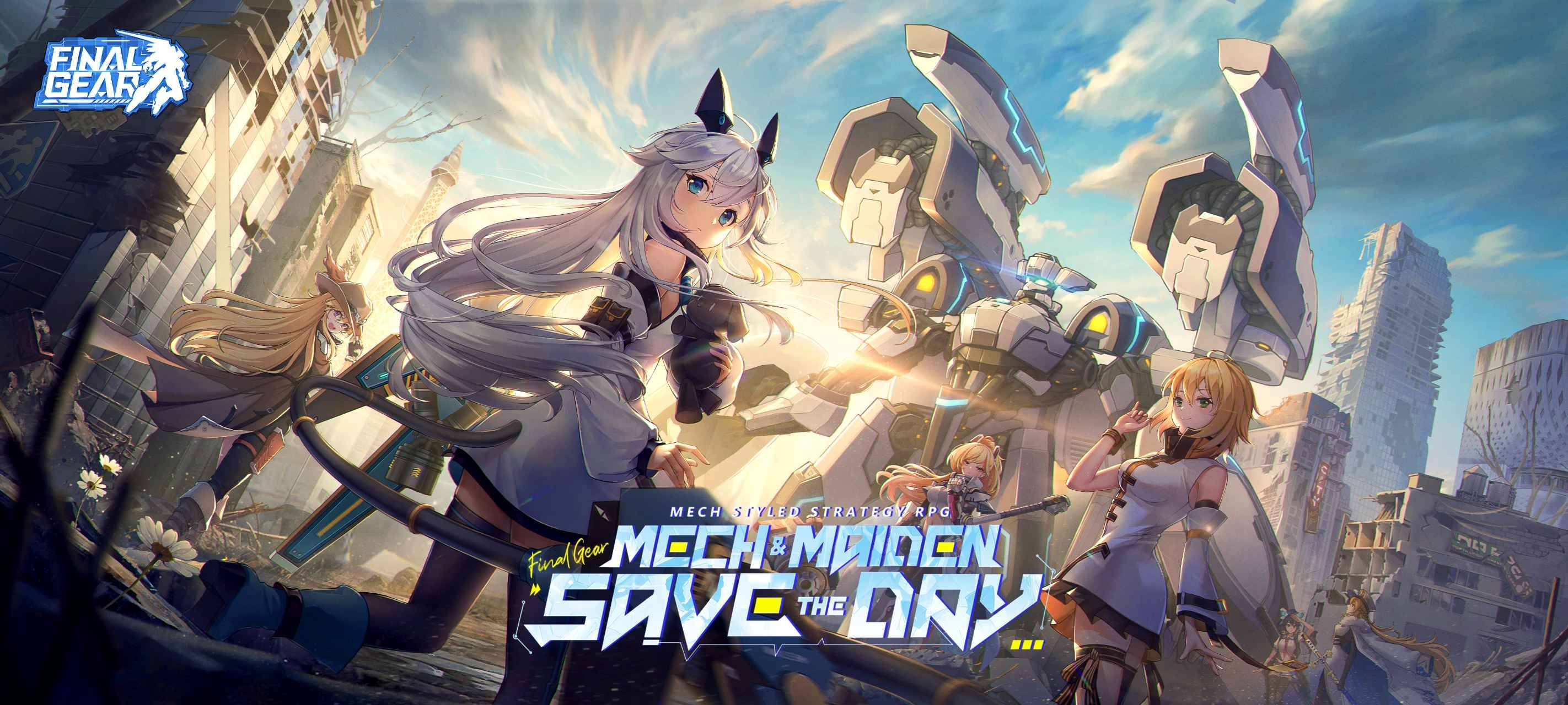 Best Mech-Style Strategy RPG Ever: Final Gear Launching Globally on Sep. 30!