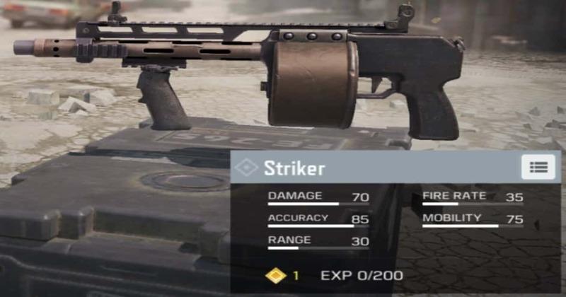 Striker-attachments-COD-Mobile