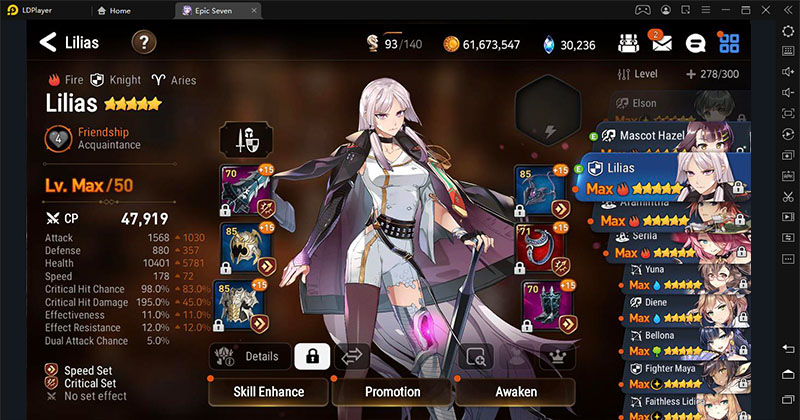 Epic Seven: Ultimate guide for Lilias