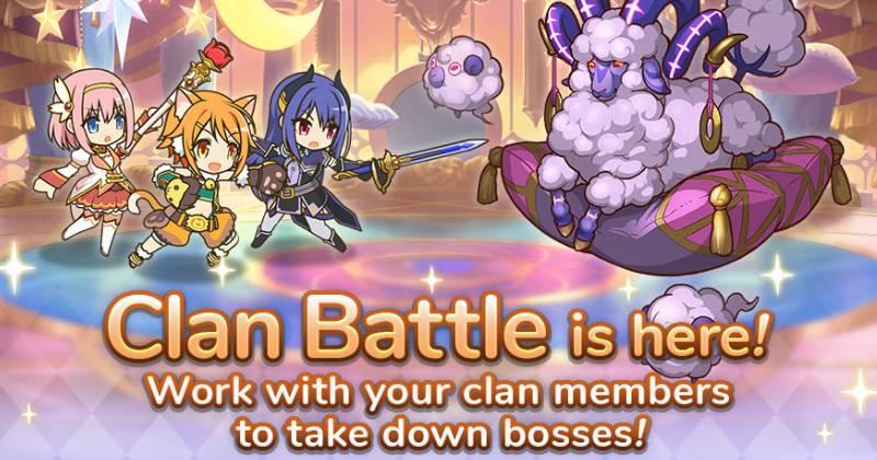 Princess Connect Clan Battle Guide