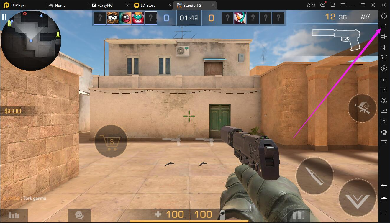 [Walkthrough] How to walk slowly in shooter games such as PUBG MOBILE and Standoff 2