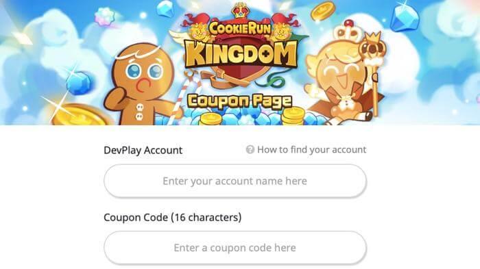 Cookie Run Kingdom Redeem Codes Site