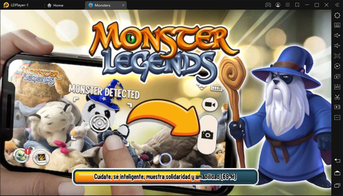 Tutorial para descargar y jugar Monster Legends en PC