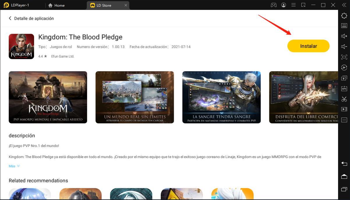 100% gratis - Descargar Kingdom: The Blood Pledge para PC (Windows) 2021