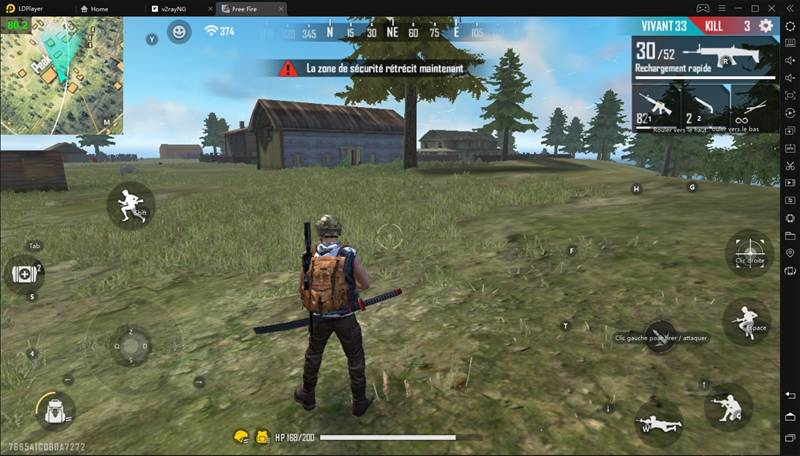 Free Fire High FPS