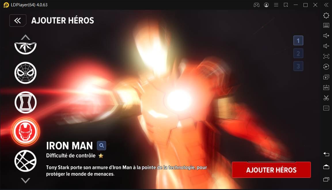 Meilleurs héros du jeu Marvel Future Revolution