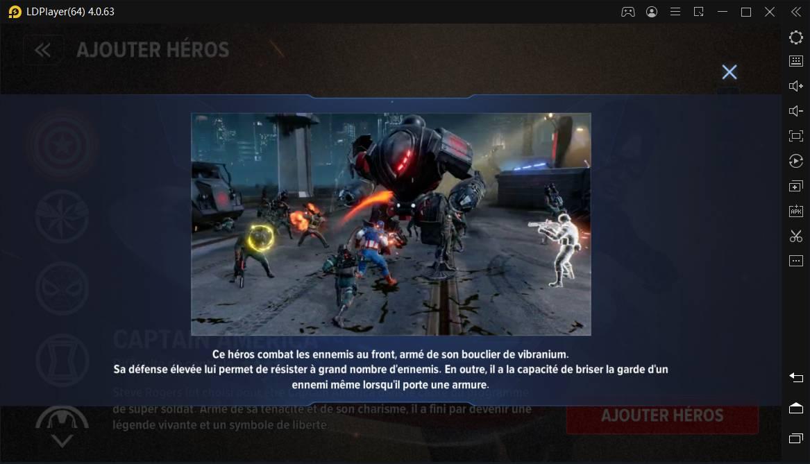 Captain America dans Marvel Future Revolution