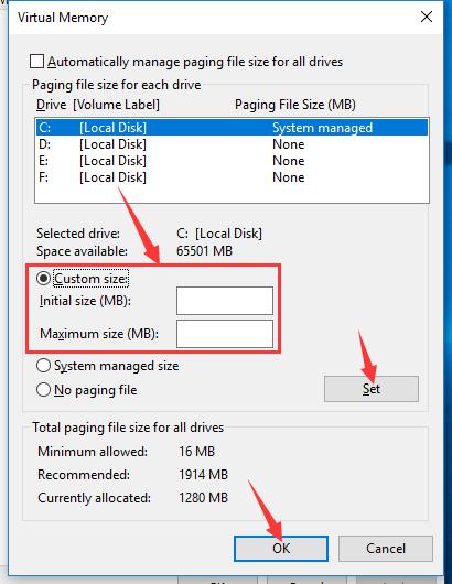 Cara mengatur memori virtual dalam sistem win10 LDPlayer