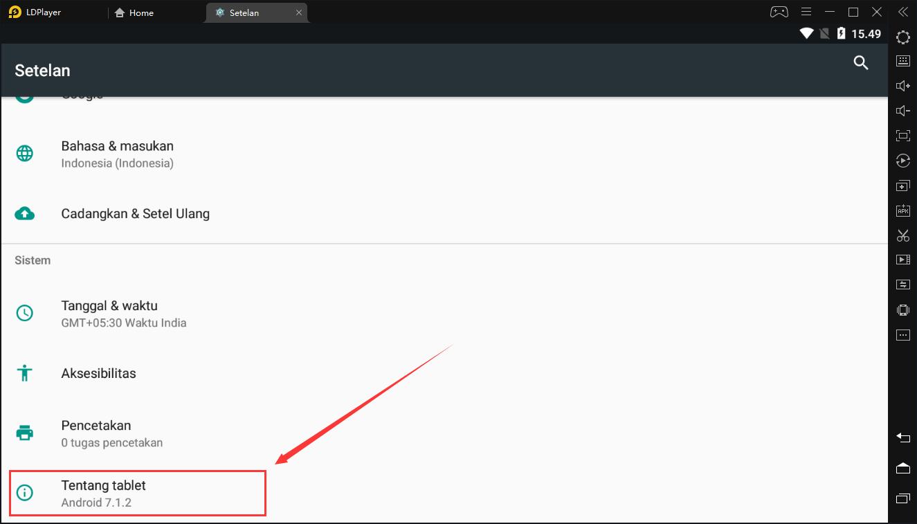 Cara menyiapkan penghubung jaringan di emulator Android LDPlayer