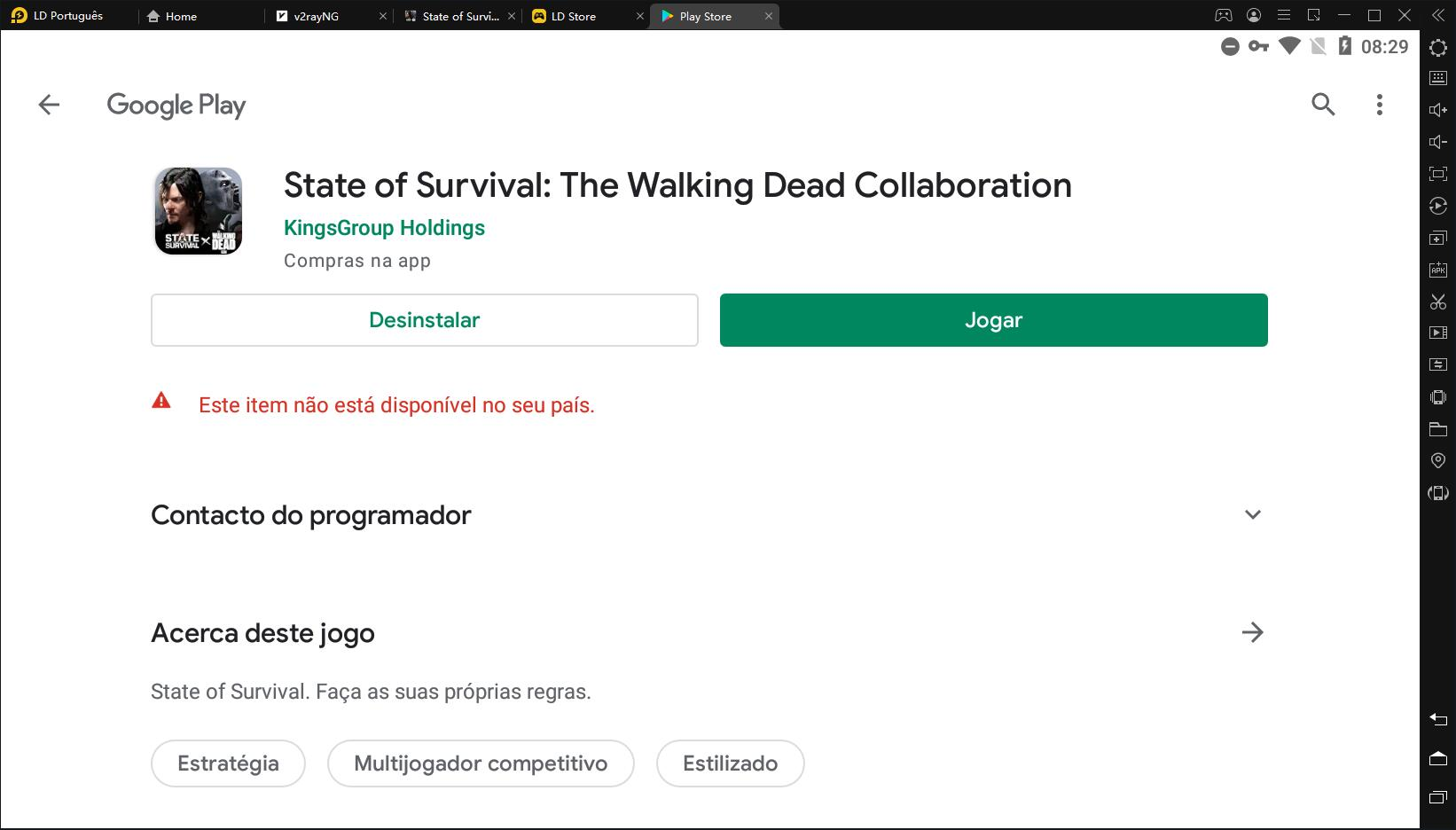 Como jogar State of Survival no PC usando LDPlayer?