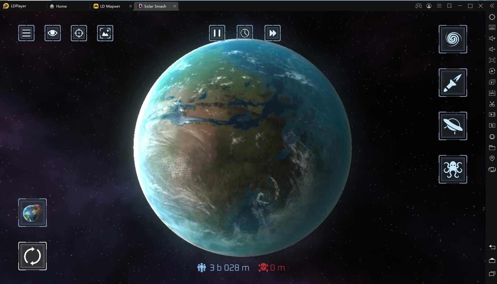 Играть в «Solar Smash» бесплатно на пк