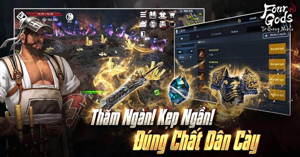 """Title: """"Bom tấn hạng nặng Tứ Hoàng Mobile ra mắt 22/4 và 4 điều đặc biệt cần lưu ý"""