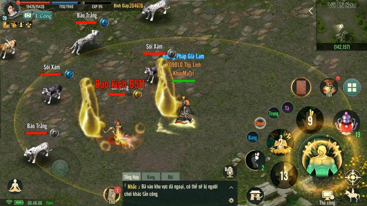 Giới thiệu môn phái Thiếu Lâm – Võ Lâm Truyền Kỳ 1 Mobile/LDPlayer