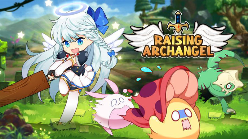 Download and Play Raising Archangel: AFK...