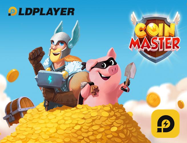Como jogar Coin master no oc ?