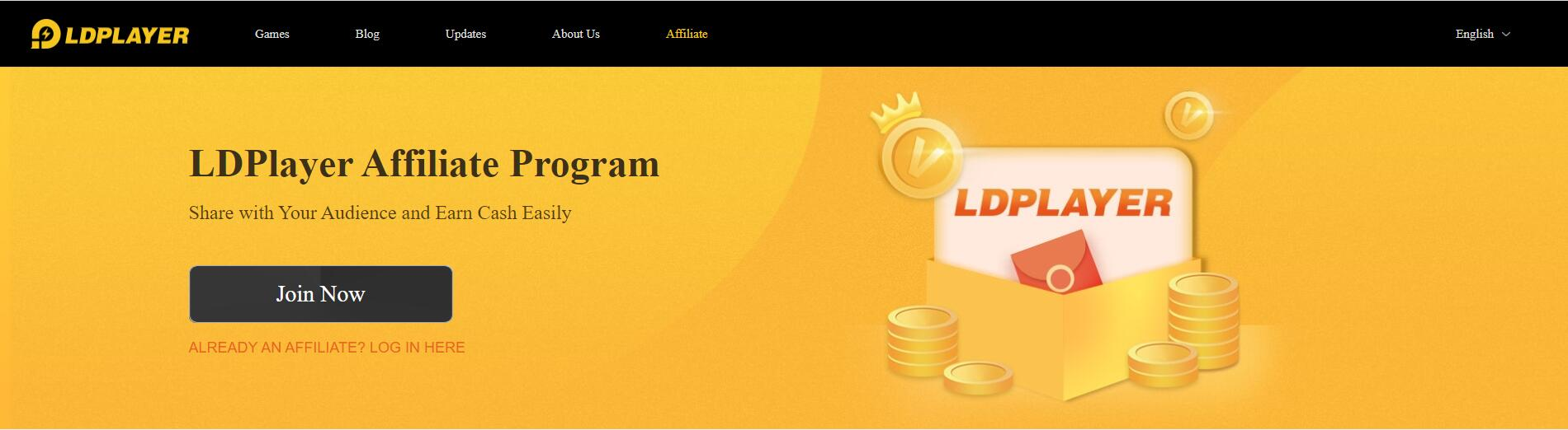 LDPlayer affiliate program's official in...