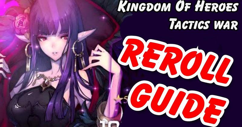 Kingdom of Heroes Tactics War Game Guide...