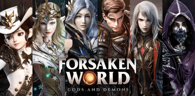 Играть в Forsaken World: Gods and Demons бесплатно на пк